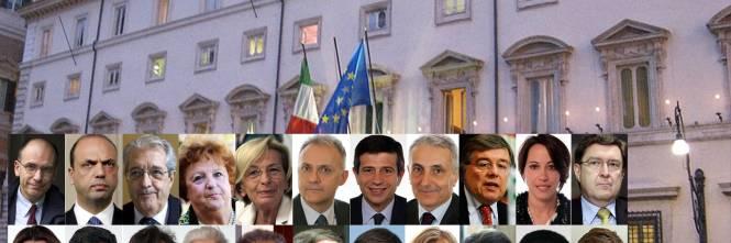 ministri ecco tutti i nomi