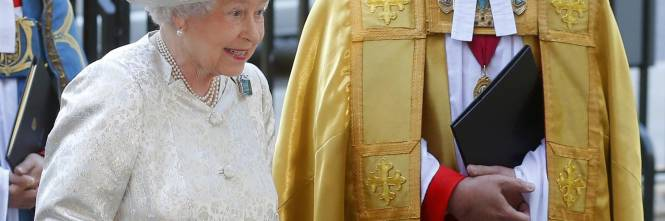 La corona d 39 inghilterra in pubblico dopo 60 anni for Quanto costa la corona della regina elisabetta