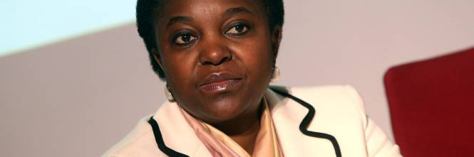 Italy's former Minister for Integration Cécile Kyenge, originally from Congo