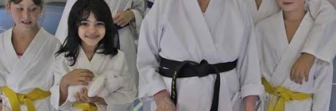 Risultati immagini per Maria Rossi Cintura nera a 101 anni