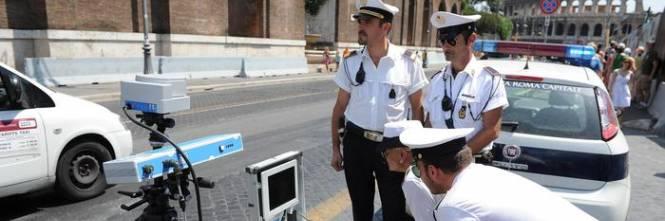 Roma i vigili bocciano le multe a strascico del sindaco marino - Test dello specchio polizia ...