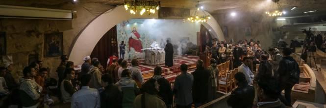 Egitto, la messa di Natale alla Chiesa di San Simeone 1