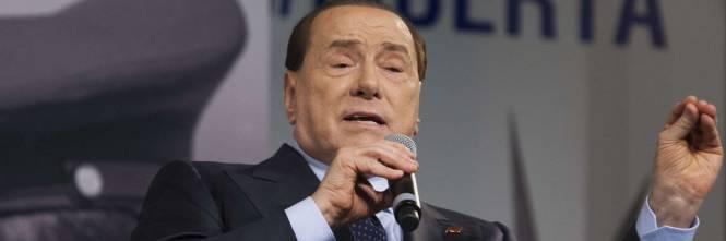 Secondo Scardaccione, Berlusconi è colpevole sia del reato di concussione ai danni del capo di gabinetto della questura di Milano, Piero Ostuni, ... - 1421331631-berlusconi