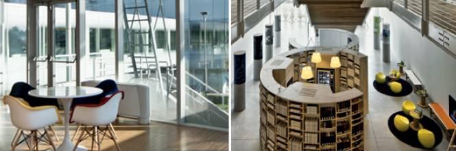 Salone del mobile design luce l 39 ufficio di de lucchi e for Salone mobile ufficio