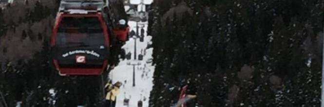 Evacuata la cabinovia in Val Gardena 1