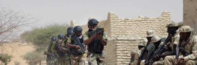 L'addestramento delle truppe in Ciad 1