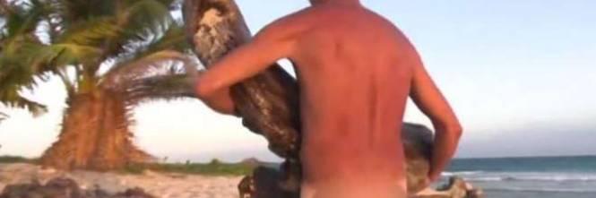 Rocco Siffredi nudo su Playa desnuda 1