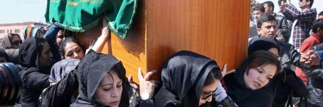 I funerali a Kabul della donna uccisa  1