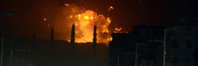 Lo Yemen sotto i bombardamenti 1