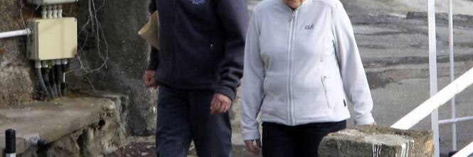 La Merkel a Ischia tra pilates e verdurine 1