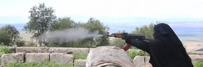 Le guerriere della Jihad in Siria 1