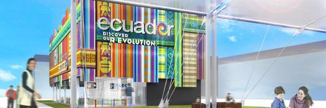Expo Milano Stand Ecuador : Quot discover our evolution l ecuador debutta a expo