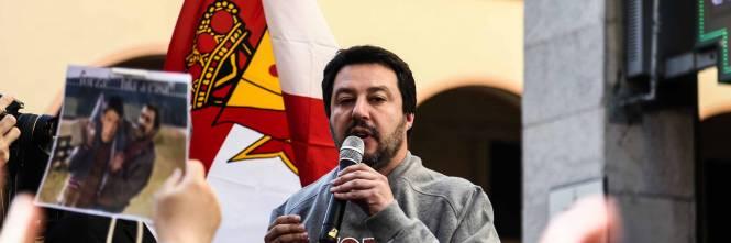 Le contestazioni a Salvini