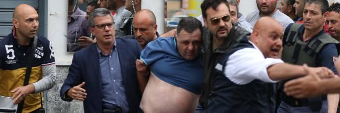 L'arresto dell'uomo che ha aperto il fuoco a Secondigliano 3