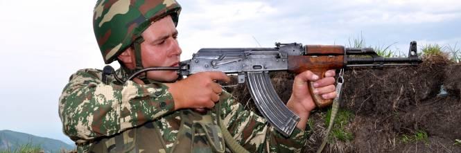 Nagorno Karabak, la trincea degli azeri 1