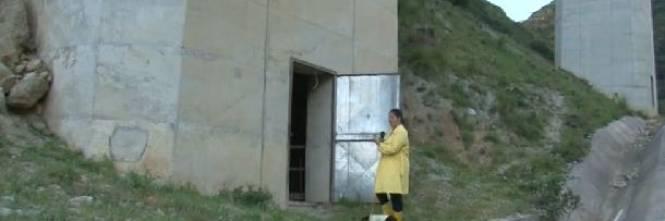Un mattatoio abusivo in un pilone della Palermo-Messina 1