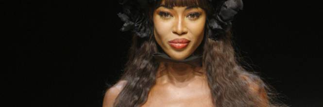 Naomi Campbell, 45 anni da Venere Nera 1