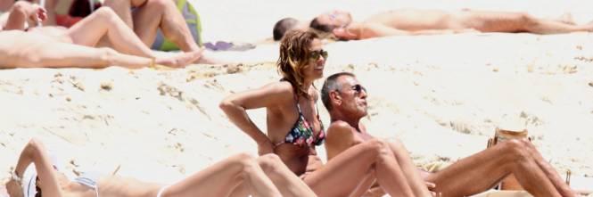 Il topless di Cristina Parodi a Formentera 1