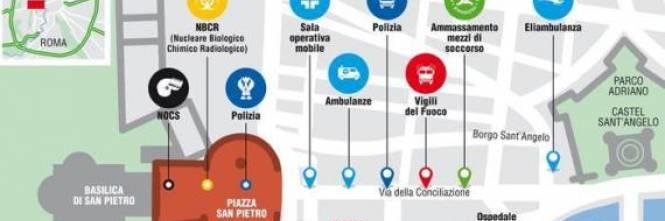 Ecco il piano d'emergenza in caso di attacco a Roma 1