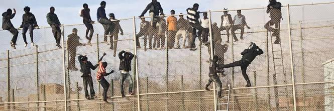 Risultati immagini per migranti marocchini