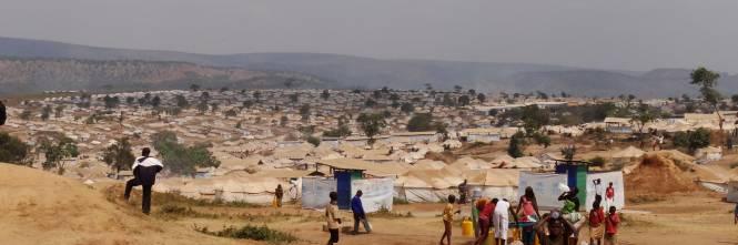 Il campo profughi di Mahama  1