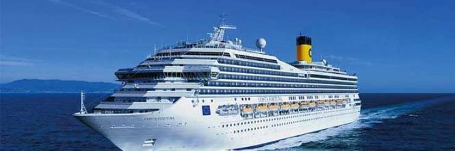 Precipit in mare da una nave costa esce dal coma non for Costa neoriviera piano nave