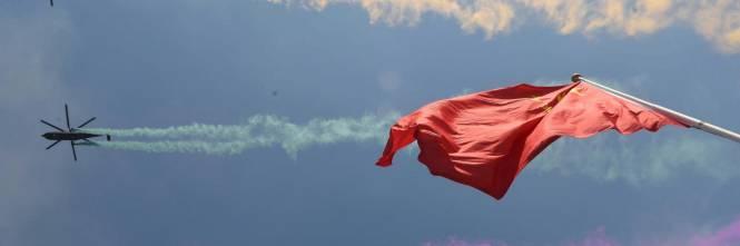 La sfilata dell'esercito cinese 1