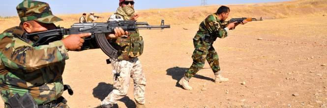 Così i parà addestrano i curdi a Erbil 1