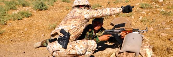 I parà addestrano le truppe curde in Iraq 1