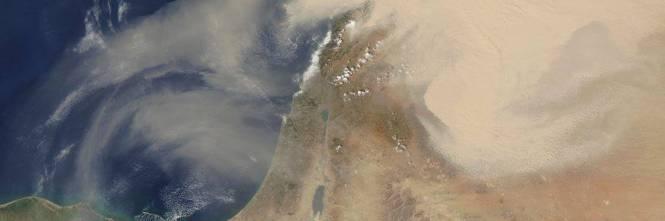 Tempesta di sabbia sul Medioriente 1
