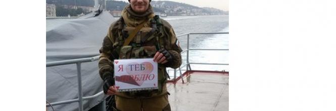 I selfie dei soldati russi in Siria 1
