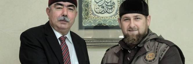 L'incontro tra Kadyrov e il vicepresidente dell'Afghanistan 1