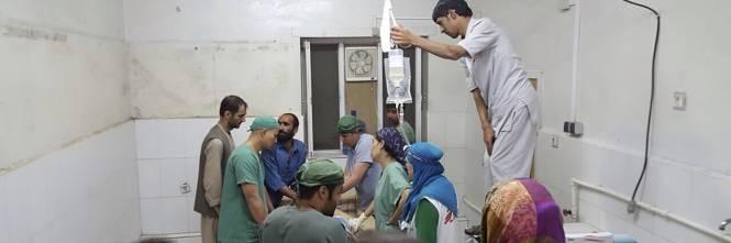 Colpito l'ospedale di Medici senza frontiere 3