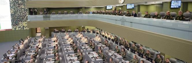 La war room di Putin 1