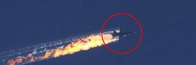 Il caccia russo abbattuto 1