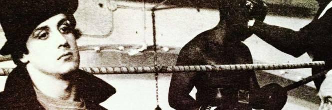 Sylvester Stallone nelle foto di scena di Rocky 1