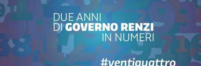 Le slide dei due anni del governo Renzi 1