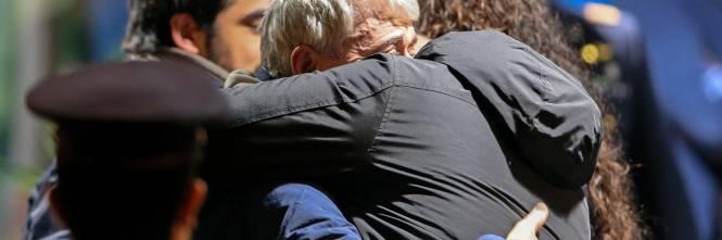 Gli ex ostaggi sono arrivati a Ciampino 1