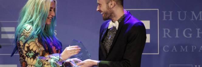 Kesha premiata dalla Human Rights Campaign: foto 1