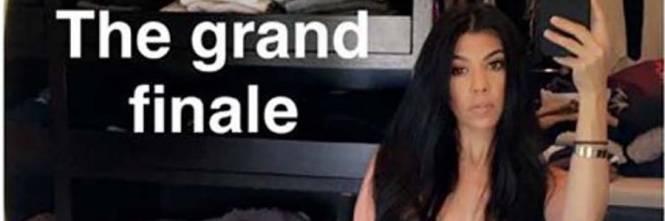 Kourtney Kardashian su Snapchat 1