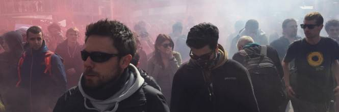 Brennero, manifestazione pro migranti 1