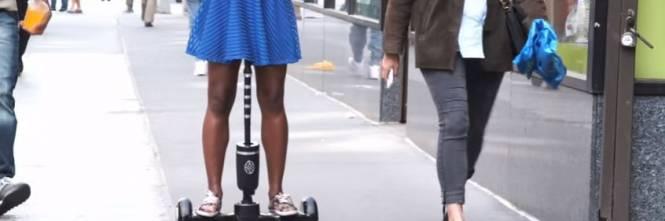 Dildo hoverboard, loggetto per camminare e raggiungere lorgasmo