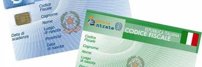 Codice fiscale tutte le novit arriva quello unico europeo for Codice fiscale da stampare