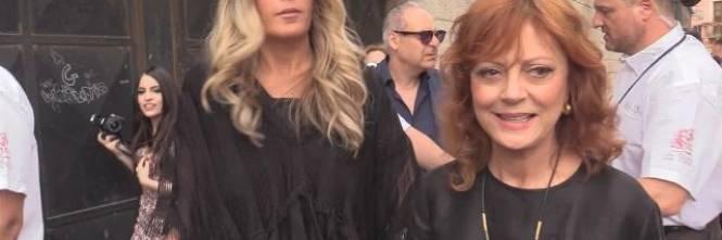 Susan Sarandon, le dichiarazioni dell'attrice al Taormina Film Fest 1