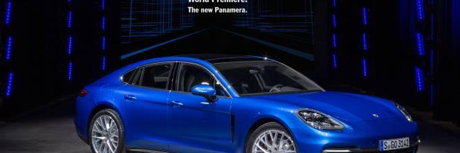 Le immagini della nuova Porsche Panamera 1