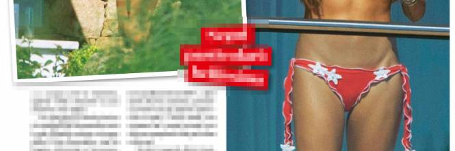 Elisabetta Gregoraci, topless da urlo in Costa Smeralda 1