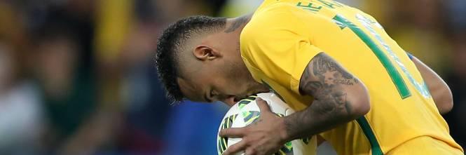 Rio, la gioia verdeoro per l'oro nel calcio 1
