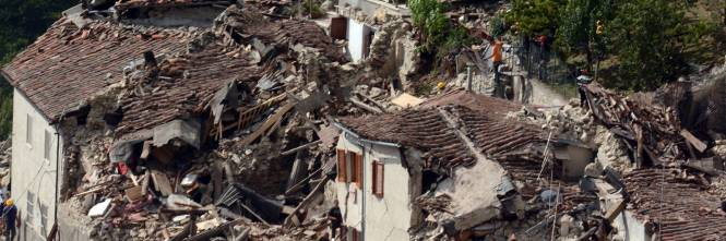 """Terremoto, """"Pescara del Tronto ridotta come Aleppo ..."""
