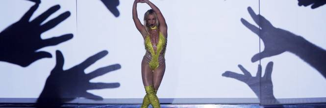 Britney Spears sexy agli MTV VMA 1