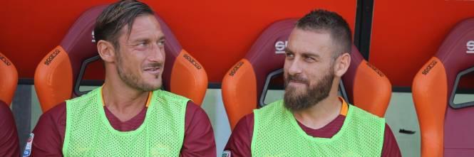 così economico selezione premium il migliore Roma, il rapporto speciale tra Totti e De Rossi. Capitan ...